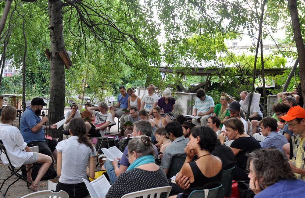 Nachbarschaftsacademy 2015. Photo by Marco Clausen.