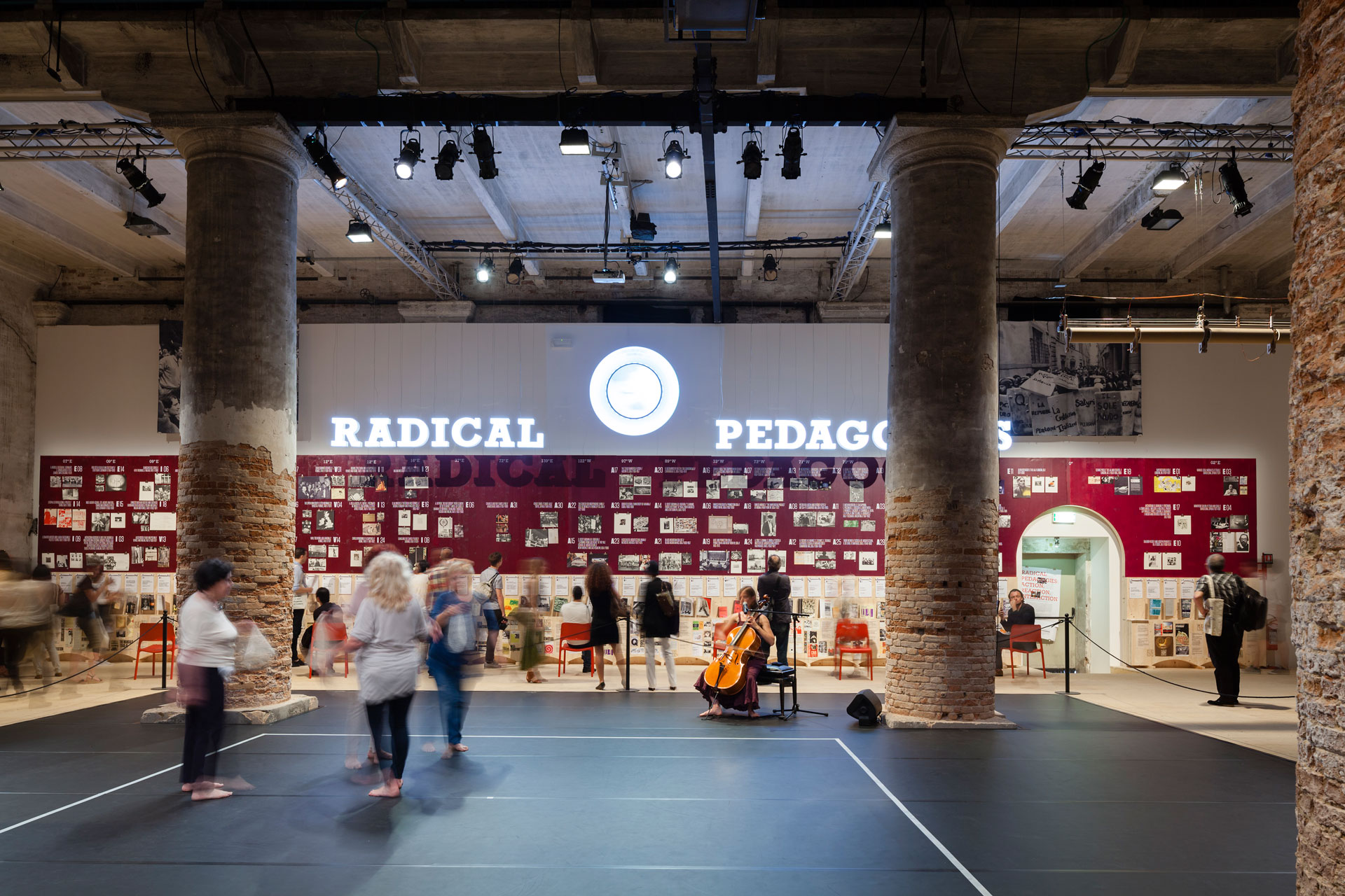 Radical Pedagogies: Action, Reaction, Interaction, 14th International Architecture Exhibition of the Venice Biennale: Fundamentals, Venice, 2014. Photo by Bartosz Stawiarski